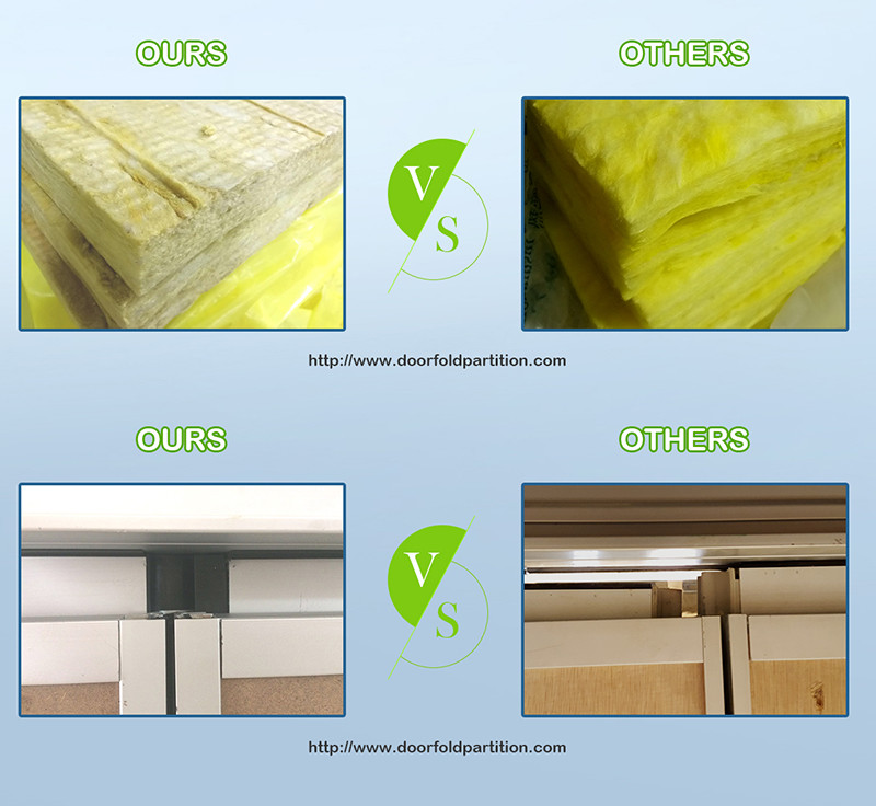 Doorfold movable partition Brand popular professional operable saudi folding partition walls commercial