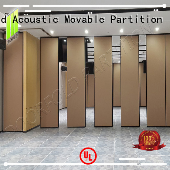sliding folding partition wall for office Doorfold