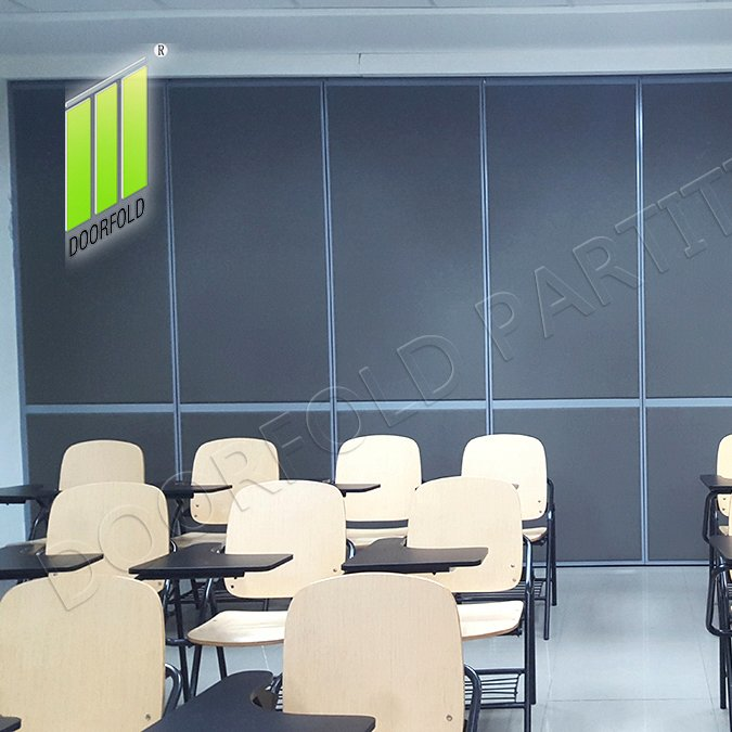 Doorfold movable partition Folding Partitioin for Commercial Room (DELA SALLELIPA COLLEGE) Folding Partition for Commercial Room image2