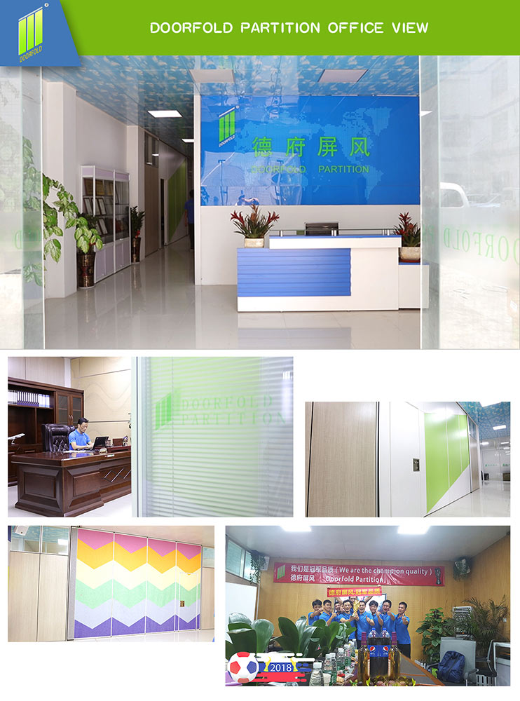 Doorfold lan room partition wall free design for office-15