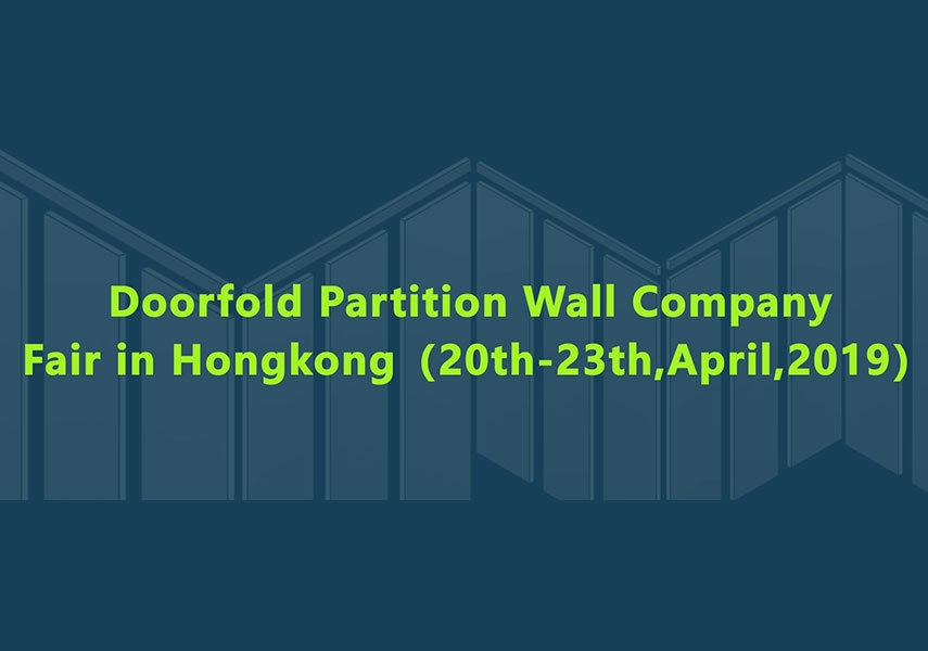 Doorfold April Hongkong Fair Information