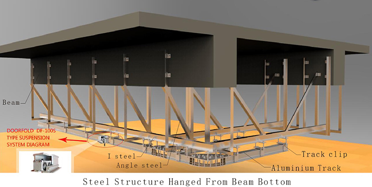 acoustic hall acoustic movable partitions spatial fast delivery for restaurant-4