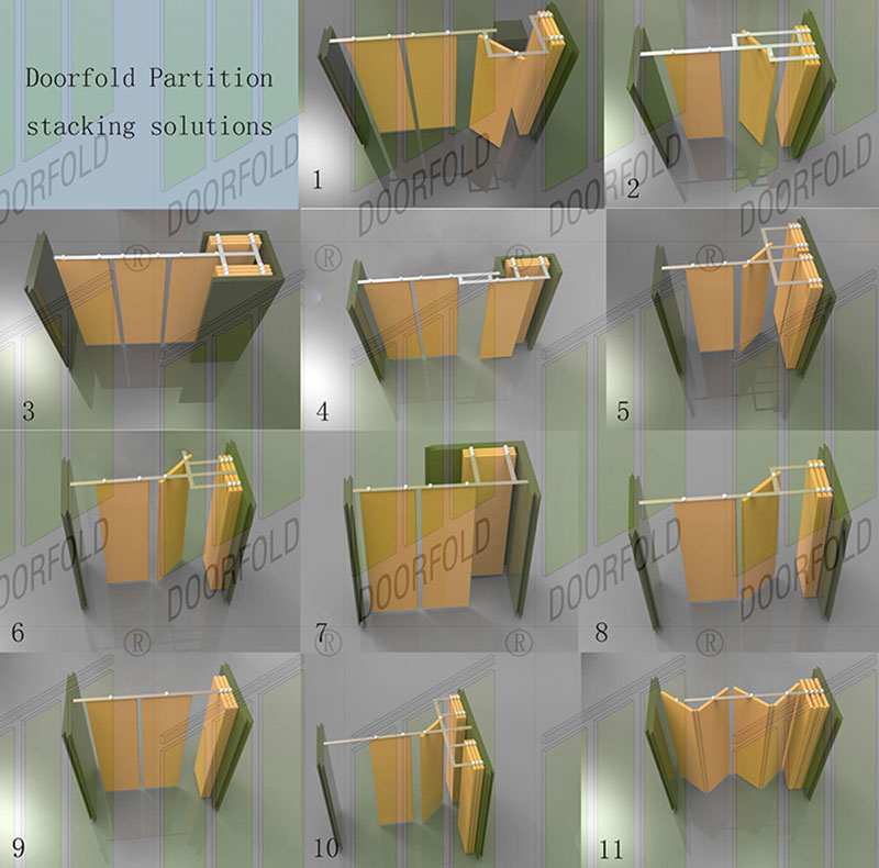 acoustic hall acoustic movable partitions spatial fast delivery for restaurant-9