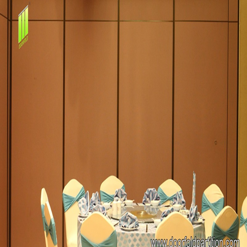 Doorfold Partition Wall Applied To Restaurants