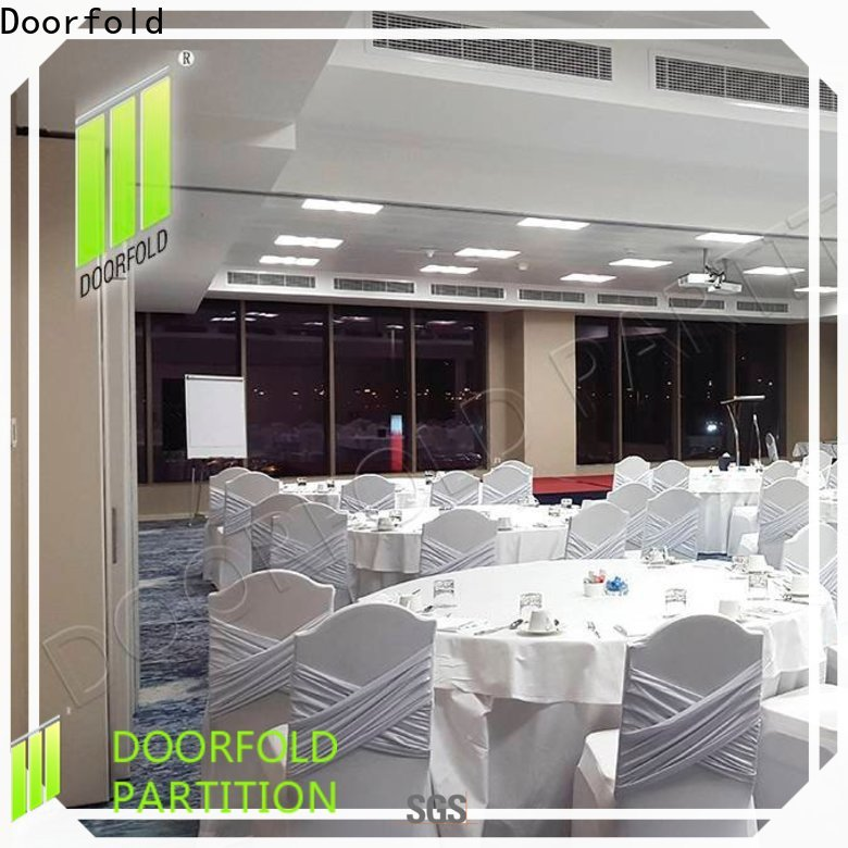 collapsible sliding folding partition latest design for office