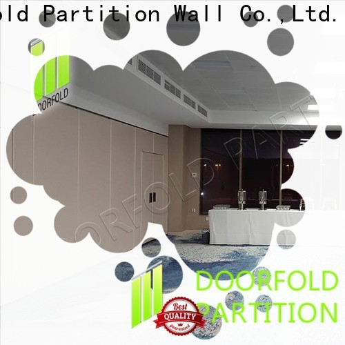 Doorfold sliding folding partition high-end for office