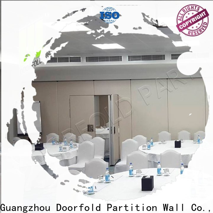 Doorfold soundproof soundproof partition wall for conference room