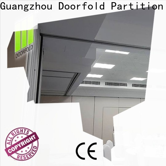 Doorfold collapsible modern partition for expo