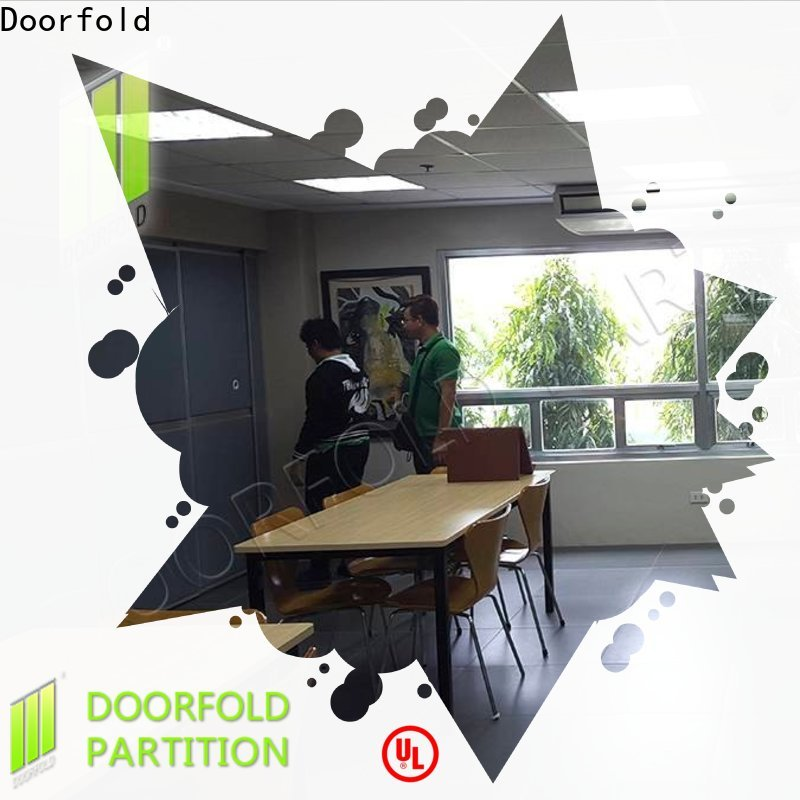 soundproof partition wall for expo