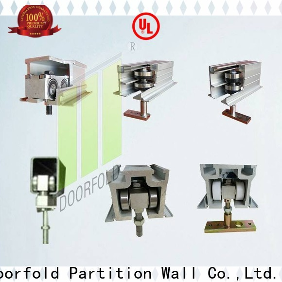 Doorfold professional partition hardware fast-installation for bedroom
