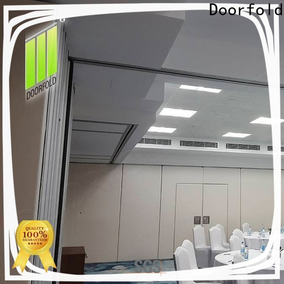 collapsible soundproof partition wall for expo