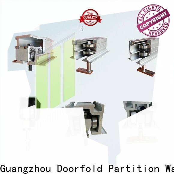 Doorfold commercial restroom hardware high-performance for display