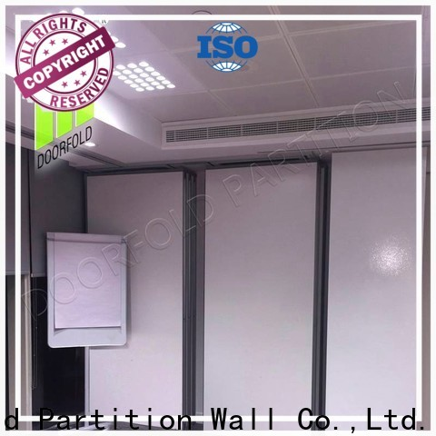 Doorfold partition wall dividers for office