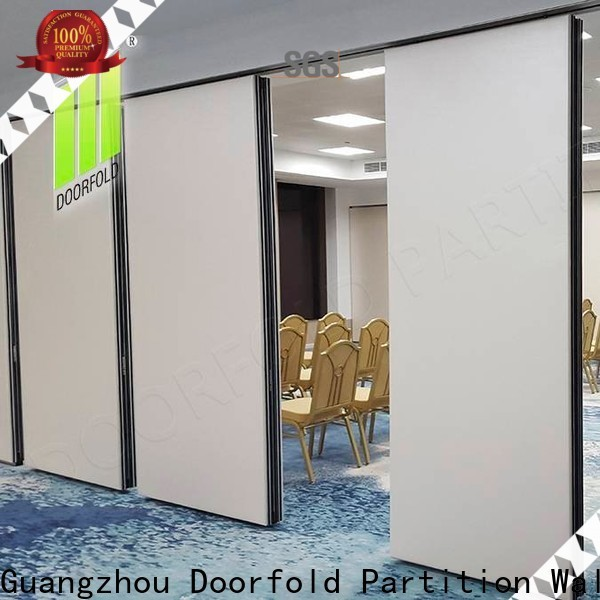 Doorfold top-selling operable wall systems multi-functional for restaurant