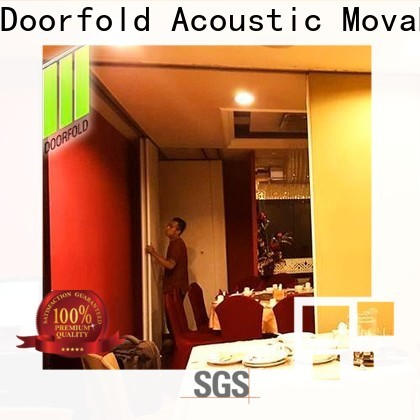 Doorfold commercial room dividers easy installation for hotel