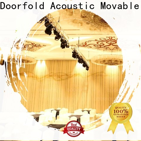 retractable hall acoustic movable partitions easy-installation for office