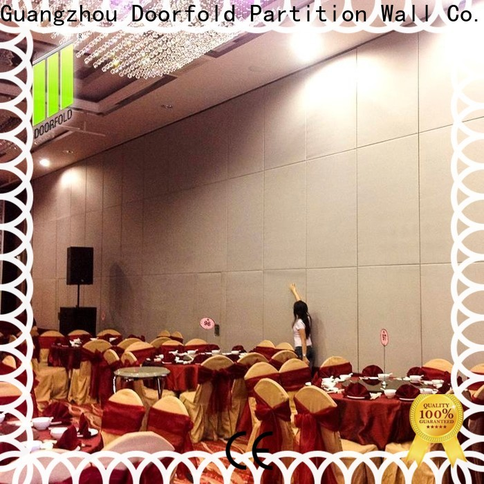 flexible sliding folding partition high-end for conference