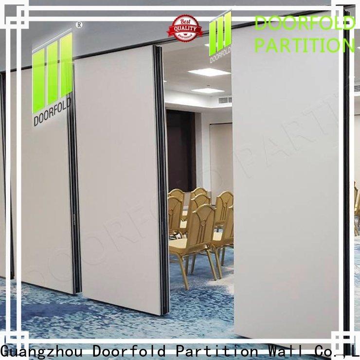 Doorfold operable wall popular for restaurant
