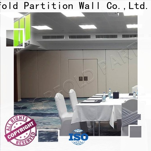 Doorfold commercial sliding room partitions new arrival