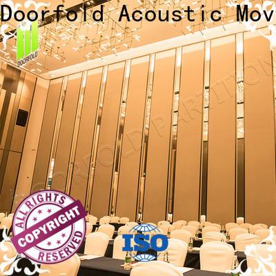 Doorfold room partition wall multi-functional meeting room