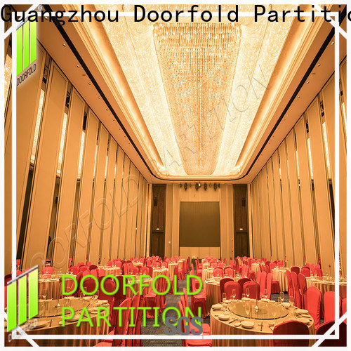 Doorfold sliding folding partition luxury for meeting room