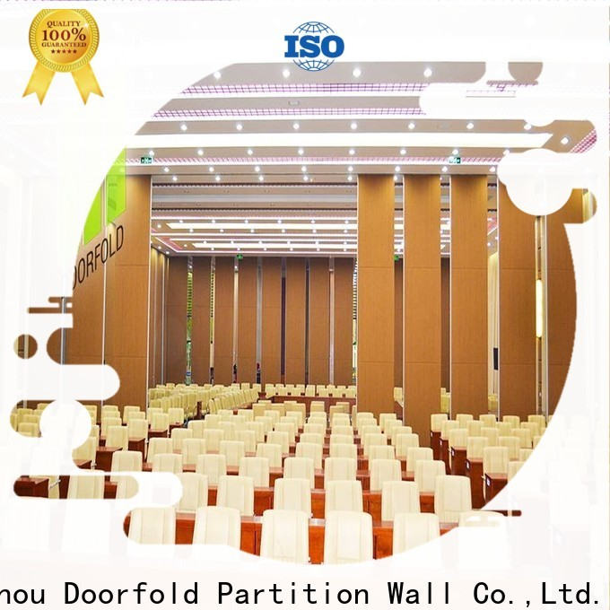 Doorfold wholesale operable wall systems popular for meeting room