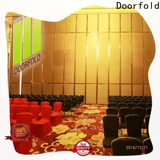 Doorfold hall acoustic movable partitions decoration