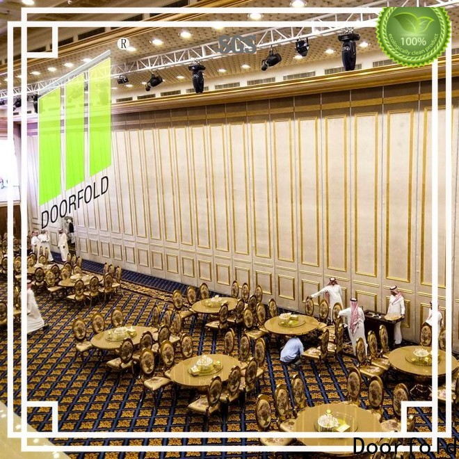Doorfold operable room partitions cheap free design conference