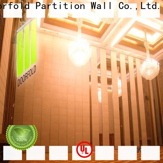 Doorfold Sliding Partition Wall for Hotel high-end