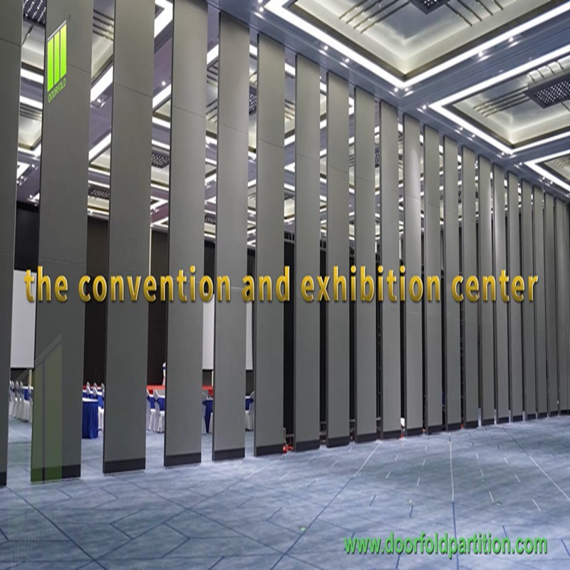 Doorfold Partition Wall Applied To Different Facilities