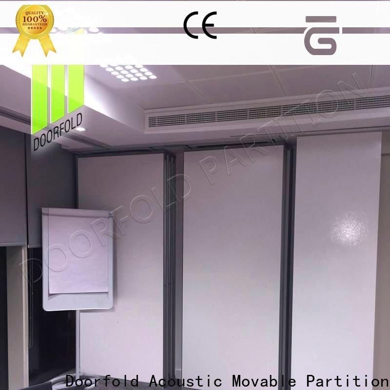 Doorfold sliding partition custom for restaurant