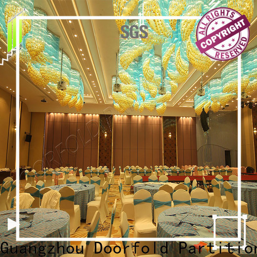 Doorfold Sliding Partition Wall for Hotel high-end for office
