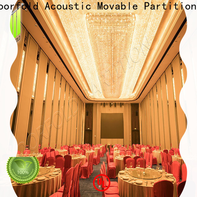 Doorfold Sliding Partition Wall for Hotel luxury for office