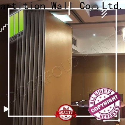commercial sliding room partitions high-end