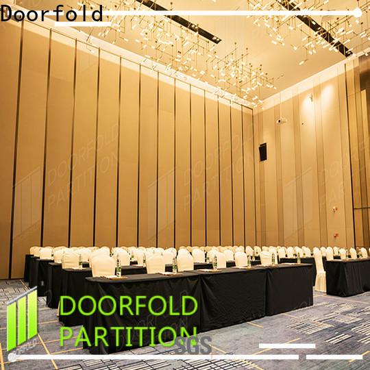 Doorfold custom temporary room partition free design