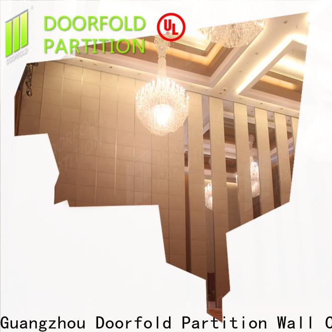 Doorfold custom meeting room partitions oem&odm best factory price