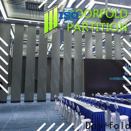 custom conference room folding partition wall oem&odm fast delivery