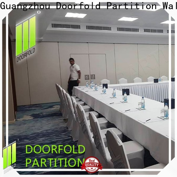 Doorfold partition wall dividers free design for meeting room