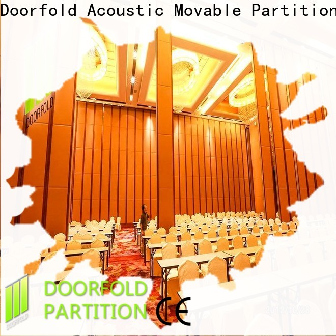 Doorfold operable partitions oem&odm for exhibition