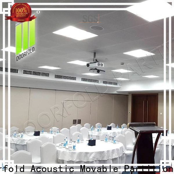 Doorfold top brand folding partition walls commercial customization for exhibition