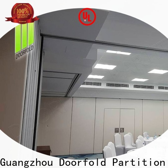 Doorfold custom room divider multi-functional for conference room