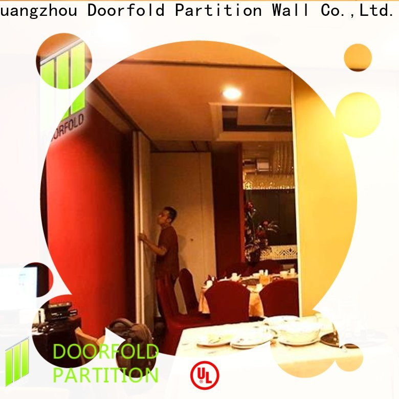 Doorfold commercial room dividers professional for hotel