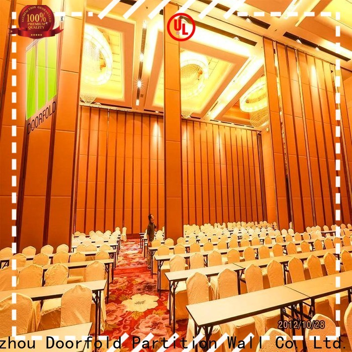 Doorfold unique room dividers customization for expo center