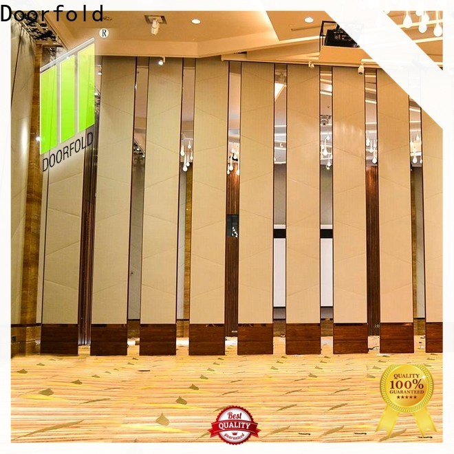 Doorfold Sliding Partition Wall for Hotel luxury