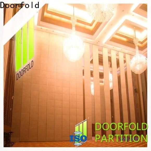 Doorfold international sliding folding partition luxury