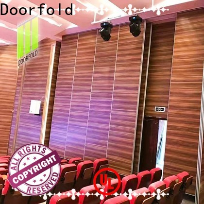 Doorfold movable walls free delivery for movie