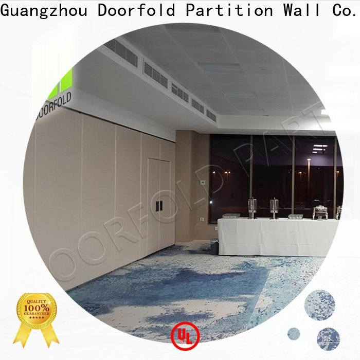 Doorfold Sliding Partition Wall for Hotel cheapest factory price