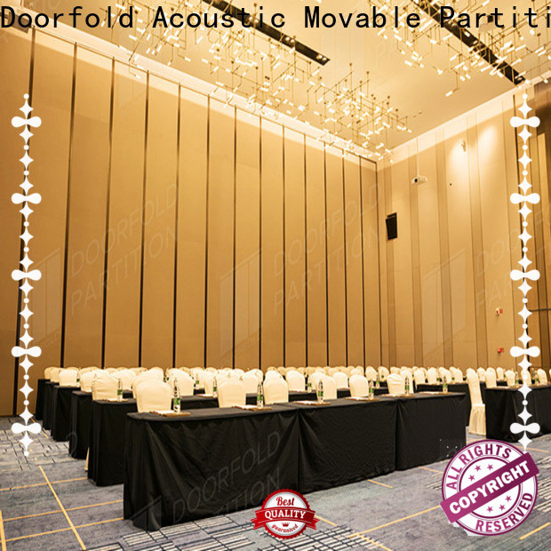 Doorfold large room partitions high performance best factory price