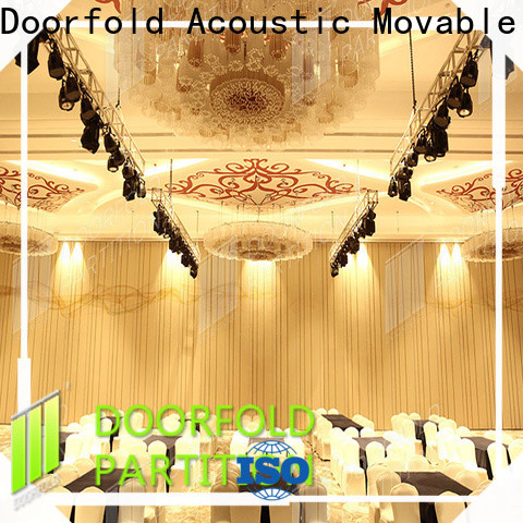 Doorfold top brand conference room partition walls high performance free design