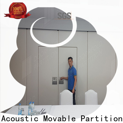 Doorfold custom modern room partition easy installation free design